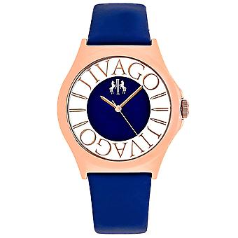 Jivago Women's Fun Blue Dial Watch - JV8435