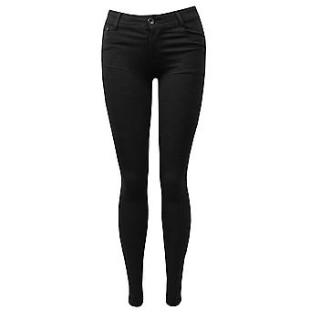Отношение, одежда черные узкие джинсы стрейч