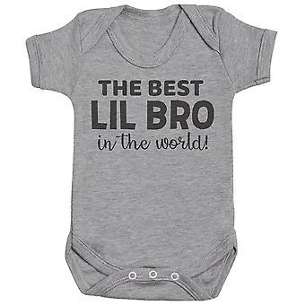 Beste Lil Bro & Big Bro in de wereld-bijpassende Kids set-Bodysuits & T-shirts-cadeauset
