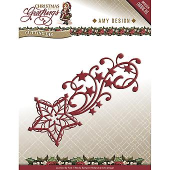 Find It Trading Amy Design Die-Shooting Star, Christmas Greetings