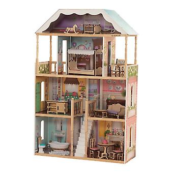 KidKraft Charlotte Doll House with EZ Kraft Assembly