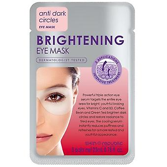 Skin republic brightening eye mask 3 pairs 23g
