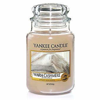 Yankee kynttilä Classic suuri jar lämmin Kashmir 623g