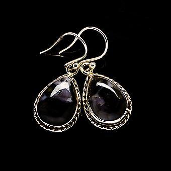 "Gabbro Brincos 1 1/4"" (925 Sterling Silver) - Handmade Boho Vintage Jewelry EARR395078"