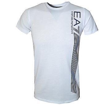 EA7 الأولاد قميصا أبيض