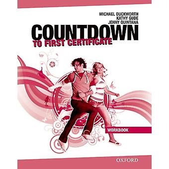 Countdown to First Certificate Workbook without Key and Students Audio CD Pack by Duckworth & MichaelGude & Kathy