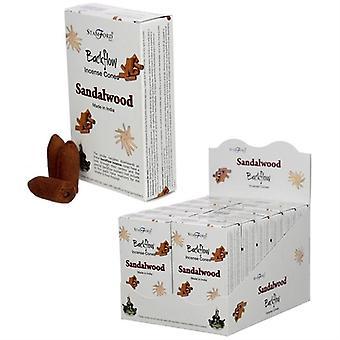 Stamford Backflow Incense Cones - Sândalo