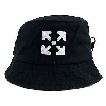 OFF-WHITE Off White Off White Arrows Logo Bucket Hat Preto