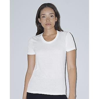 American Apparel Womens/Ladies Short Sleeved Sublimation T-Shirt