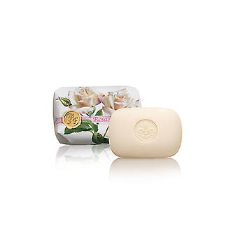 Saponificio Artigianale Fiorentino Handmade Soap - Rose - Delicate Floral Fragrance Wrapped in Wraps 200g