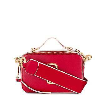 Marc Jacobs M0015898678 Donna's Borsa a tracolla in pelle rossa