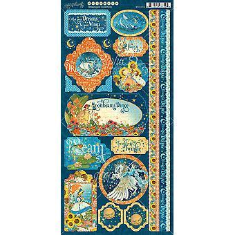 Dreamland Cardstock Stickers 12