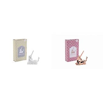 CGB Giftware Unicorn Ring Holder