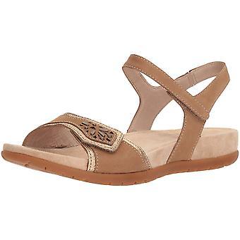 Dansko Womens Blythe Leather Open Toe Casual Slingback Sandals