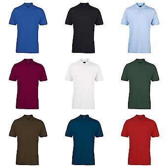 Sonar Mens Marlon 100% Cotton Short Sleeve Polo Shirt