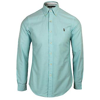 Ralph lauren men's blue oxford shirt