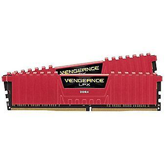 Corsair Vengeance LPX High Performance Desktop spomienky, 16 GB (2 X 8 GB), DDR4, 3000 MHz, C15 XMP 2,0, červená