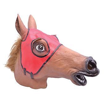 Racing hevonen naamio