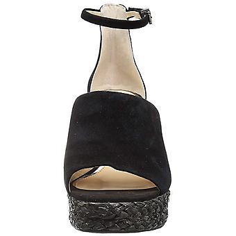 Jessica Simpson Femmes Suella Tissu Peep Toe Casual Ankle Strap Sandales