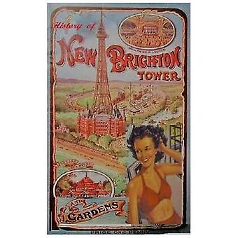 The History of New Brighton Tower by Dutton & Roy