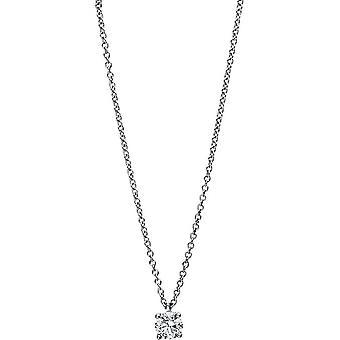 Diamond Collier Collier - 18K 750/- White Gold - 0,28 ct. - 4E458W8-1