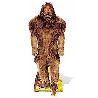 Leão covarde do mágico de Oz Lifesize papelão recorte / cartaz / stand-up