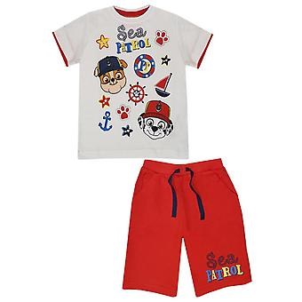 Paw patrol boys outfit set sea patrol