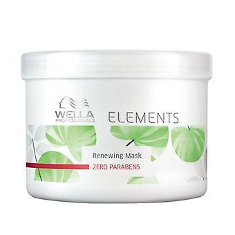 Elementos de máscara de cabelo nutritivo Wella (500 ml)