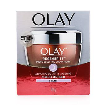 Olay Regenerist Micro-sculpting Night Cream (avancerad Anti-aging Fuktkräm) - 50g/1.76oz