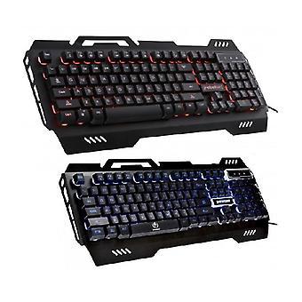 Rebeltec DEFENDER Gaming LED-tastatur - METAL