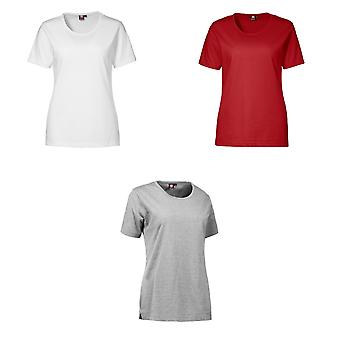 ID Womens/dames Pro-usure manches courtes T-Shirt