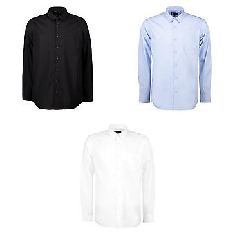 ID Mens Easy Care Poplin Shirt