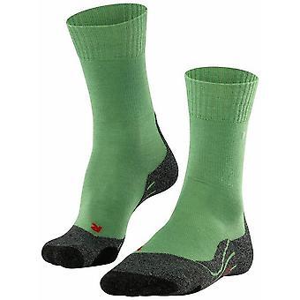 Falke Trekking 2 Socks - Eucalyptus Green