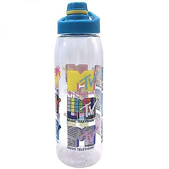 MTV 28 Ounce Water Bottle with Screw Lid