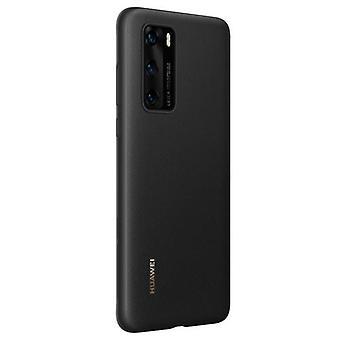 Huawei P40 Pro PU cover Original - Black