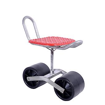 Garden Cart Rolling Work Seat, Stool