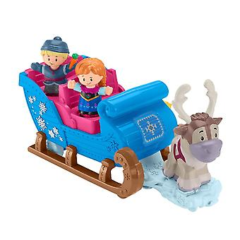 Little People GGV30 Fisher-Price Disney Frozen Kristoff-apos;s Sleigh
