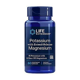 Potasio con Magnesio 60 cápsulas vegetales