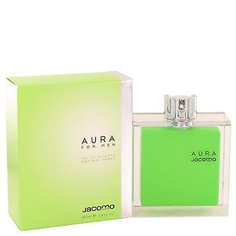 Aura eau de toilette spray by jacomo 41 ml
