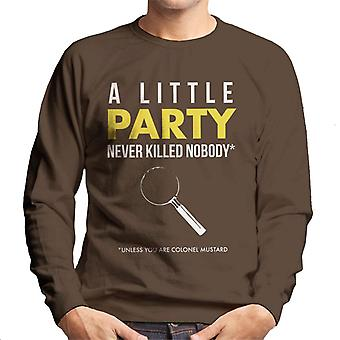 Hasbro Cluedo A Little Party Men-apos;s Sweatshirt