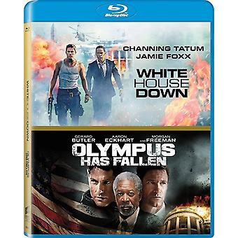 Olympus Has Fallen / White House Down [Blu-ray] USA import