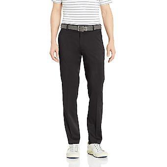 Essentials Hombres's Slim-Fit Stretch Golf Pant, Negro, 34W x 30L
