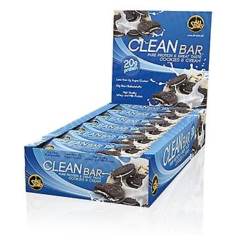All Stars Cleanbar Double chocolate chunk 60 gr x 18 uds