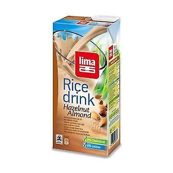 Økologisk ris, hasselnød og mandel drik 1 L