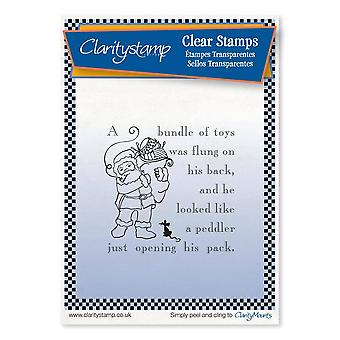 Claritystamp Twas the Night Santa's Pack Clear Stamp