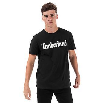 Men & apos;s Timberland Kennebec River T-Shirt i svart