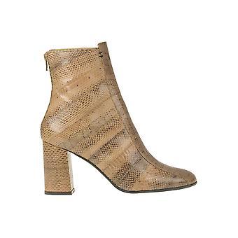 Malìparmi Ezgl194033 Femmes-apos;s Beige Leather Ankle Boots