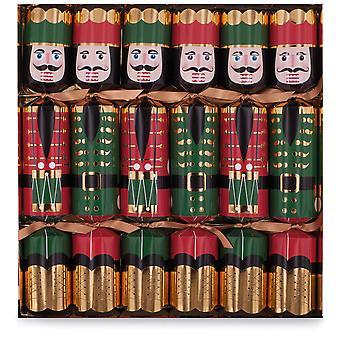 "Celebration Nutcracker Christmas Crackers 12"""
