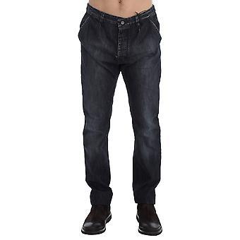 Blue Wash Regular Fit Cotton Jeans SIG17963-1