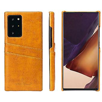 Samsung Galaxy Note 20 Ultra Case Deluxe suojakansi keltainen